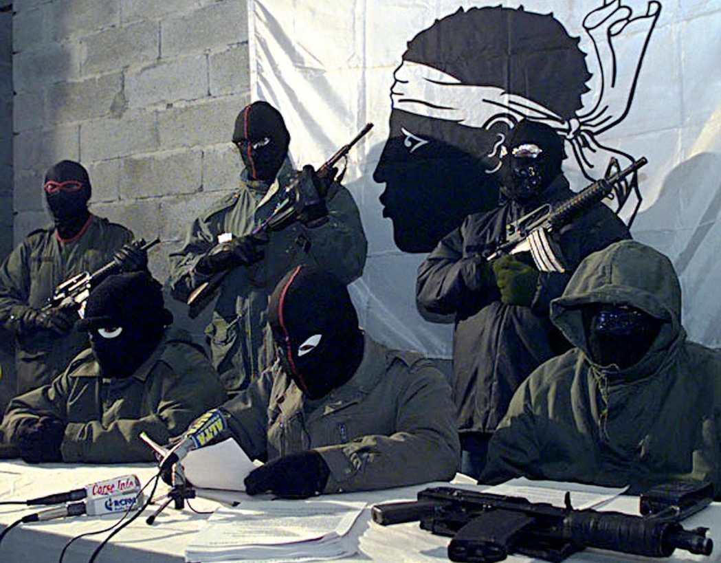 被視為恐怖組織的「科西嘉島民族解放陣線」(FLNC)。 圖/路透社