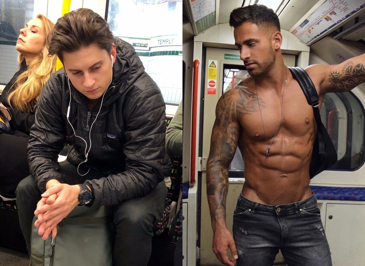 英國一個網站「Tube Crush」專門蒐集在地鐵偷拍到的男性照片,供網友評論。...