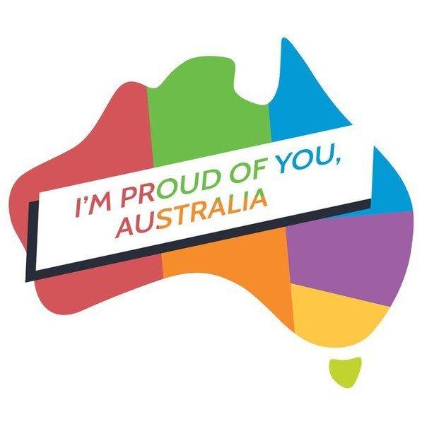 圖說:澳洲15日以61.6%的支持率,通過同性婚姻合法化公投,成為國會立法參考基...