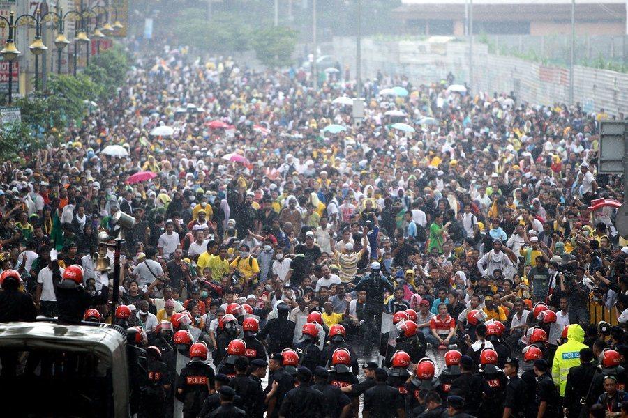 馬來西亞非政府組織「凈選盟2.0」長期在馬國推動非暴力和平爭取公平選舉,獲得亞洲...