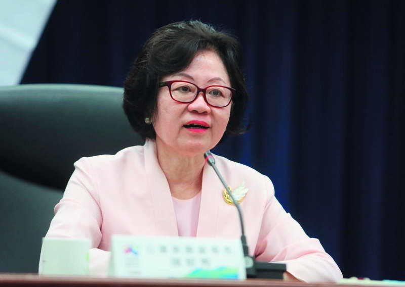華視傳出董事長陳郁秀在董事會中一度情緒失控。 攝影/柯承惠