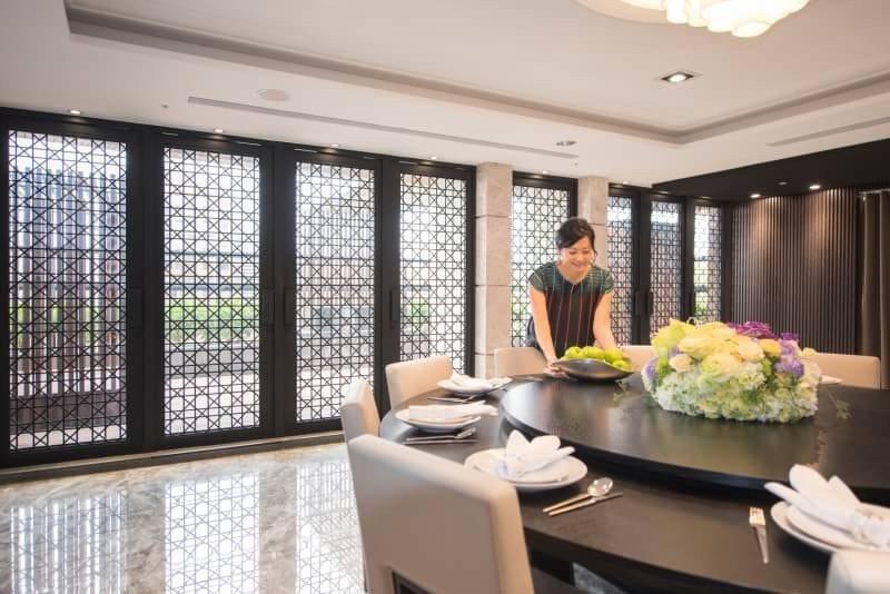 家中請客有宴會廳,賓主盡歡。 圖片提供/福懋建設