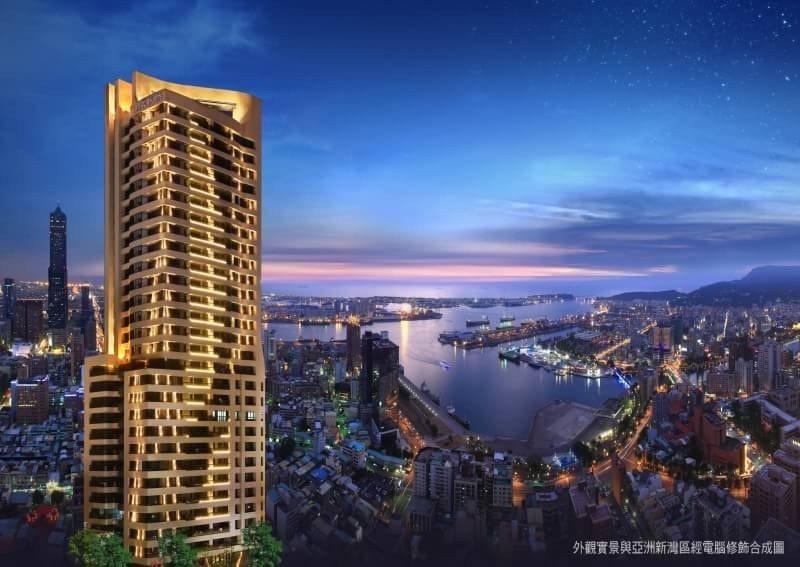 「福懋悅然」位於亞洲新灣區。 圖片提供/福懋建設
