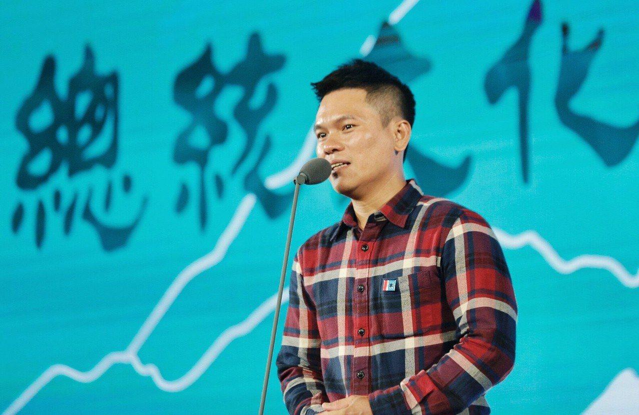 舒米恩認為原民文化是台灣重要的軟實力。圖/文化總會提供