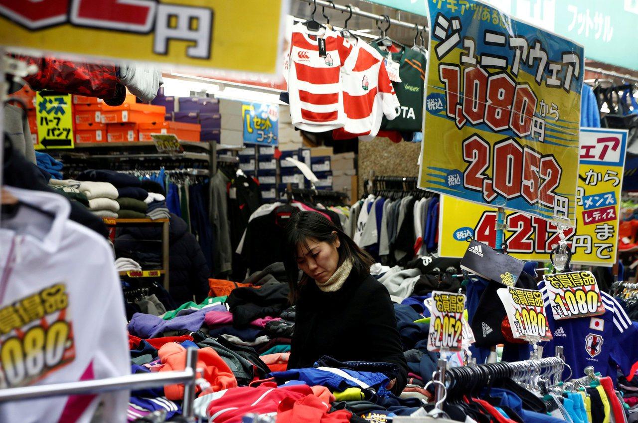 日本第3季GDP成長1.4%,連續七季成長。(路透)