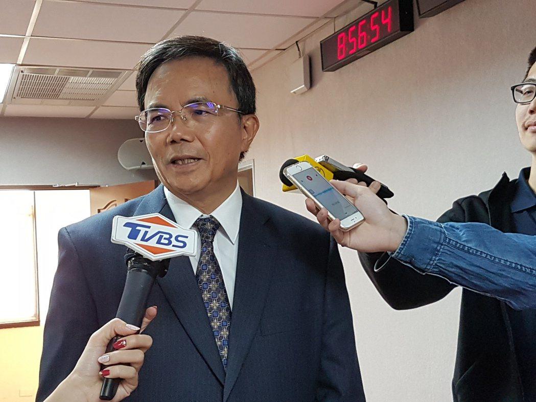 法務部次長蔡碧仲認為台灣要引進鞭刑「有困難」。記者王宏舜/攝影