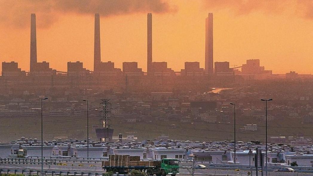 台電台中火力電廠。 本報資料照片