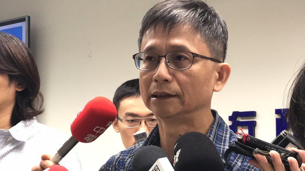 環保署副署長詹順貴今表示,2025年全台天然氣發電占比要達到一半。記者王思慧/攝...