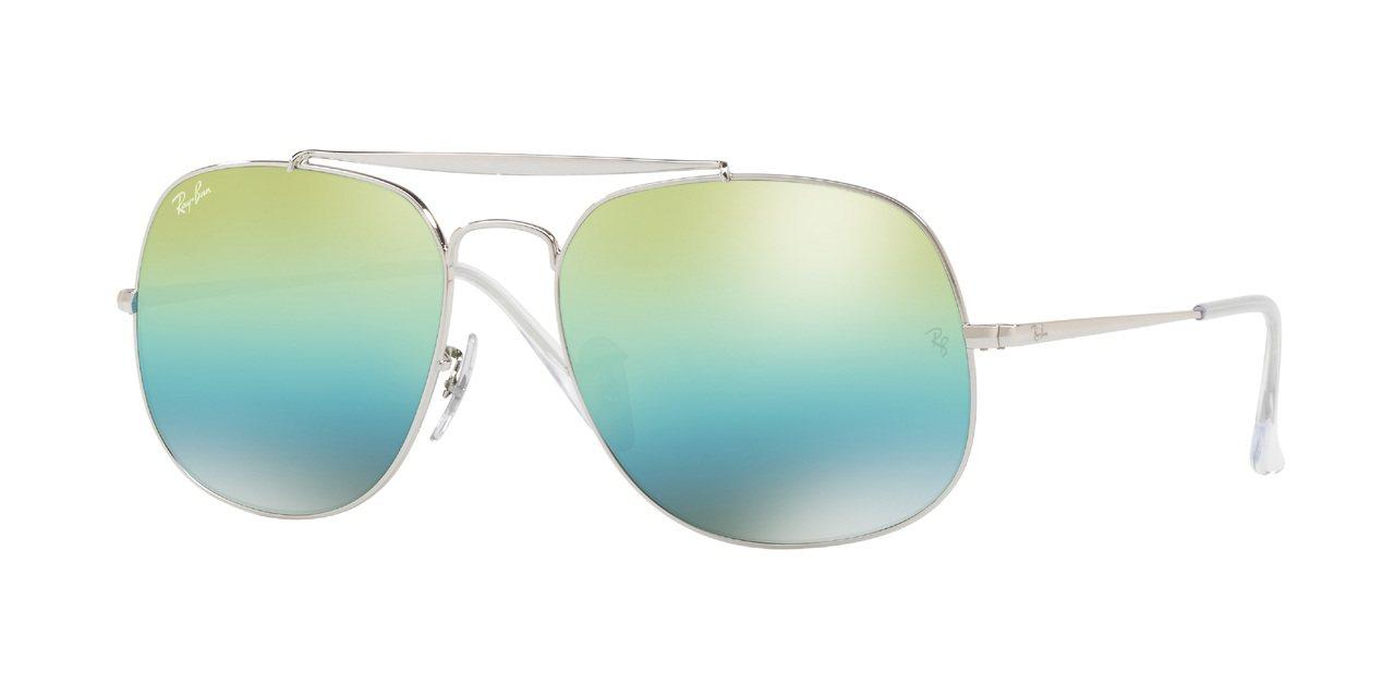 RayBan 2017秋冬將軍系列太陽眼鏡,約7,650元。圖/得恩堂提供