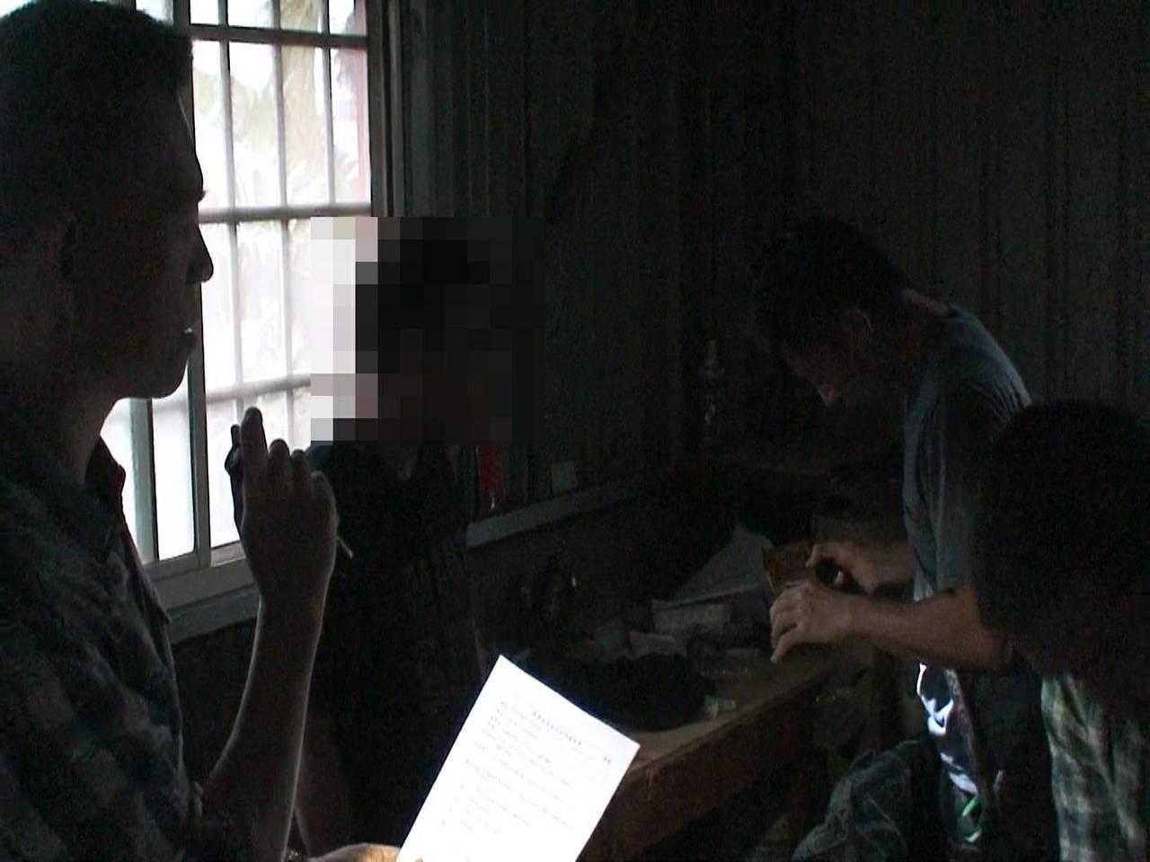 跟監多時的毒販一度逃到外地,警方仍緊追線索逮捕到案。記者謝恩得/翻攝