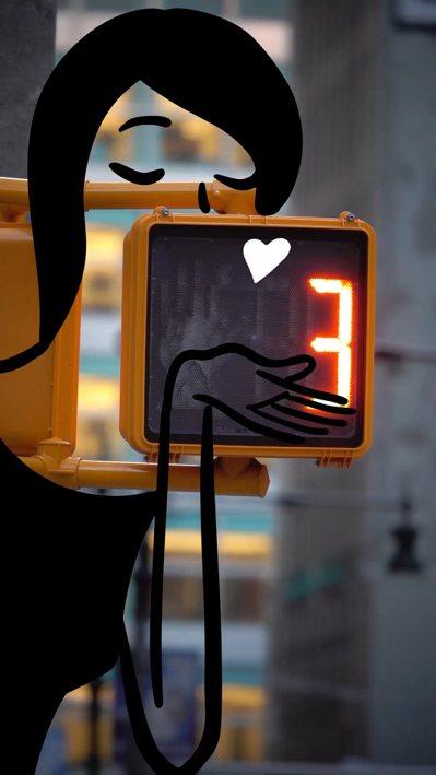 愛馬仕的數位時間冒險 畫面:Kiss。圖/愛馬仕提供