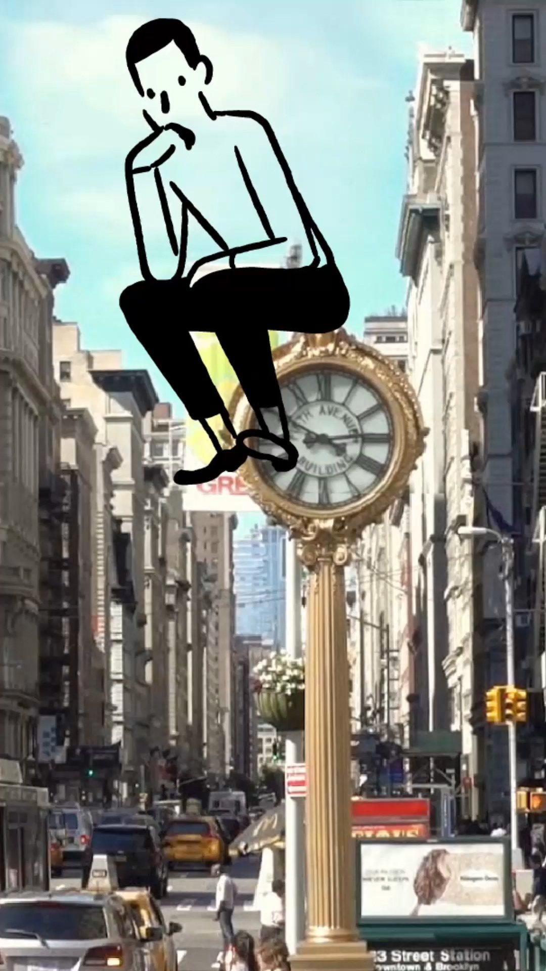 愛馬仕的數位時間冒險畫面:Think。圖/愛馬仕提供