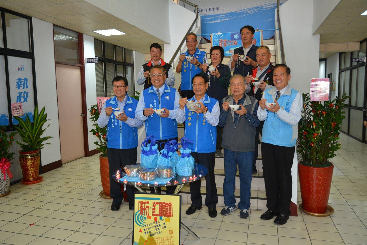 國民黨新竹市黨部將在18日舉行建黨123周年黨慶表揚大會,今天開記者會呼籲黨員回...