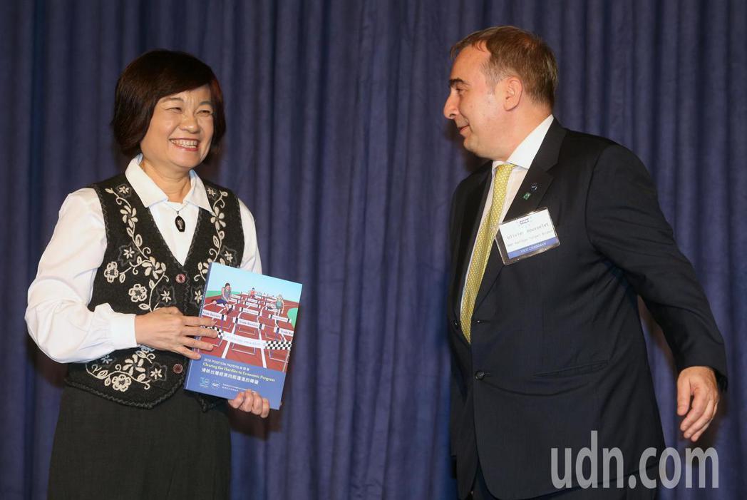 歐洲在台商務協會(ECCT)今天發布「2018年年度建議書」,國家發展委員會主委...