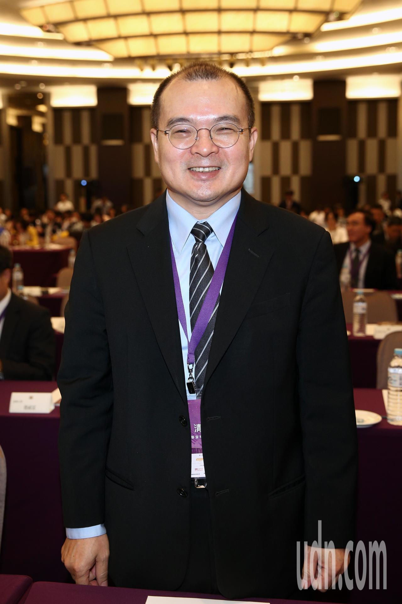 聯發科副董事長謝清江下午出席「台灣半導體產業協會TSIA年會」。記者蘇健忠/攝影