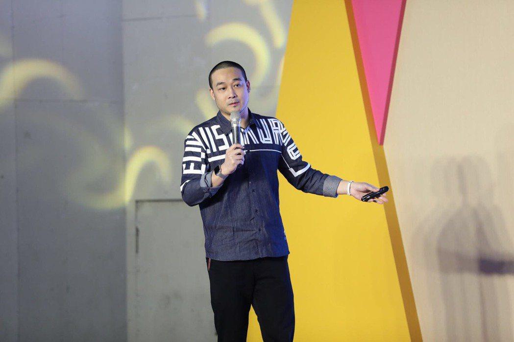 賀曉曦是大陸節目「吐槽大會」CEO。圖/中華廣播電視節目製作商業同業公會提供