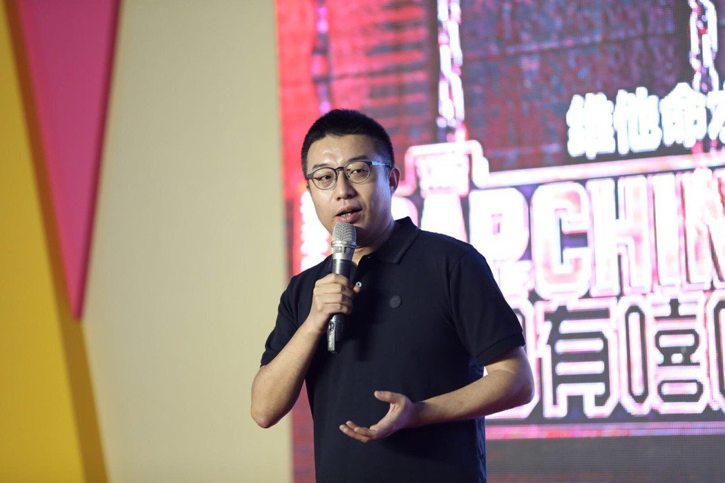 「中國有嘻哈」總製片陳偉。圖/中華廣播電視節目製作商業同業公會提供