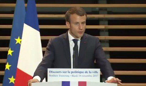 法國總統馬克宏14日宣布金額高達數十億歐元的多項住宅計畫,希望以五年的時間改變社...