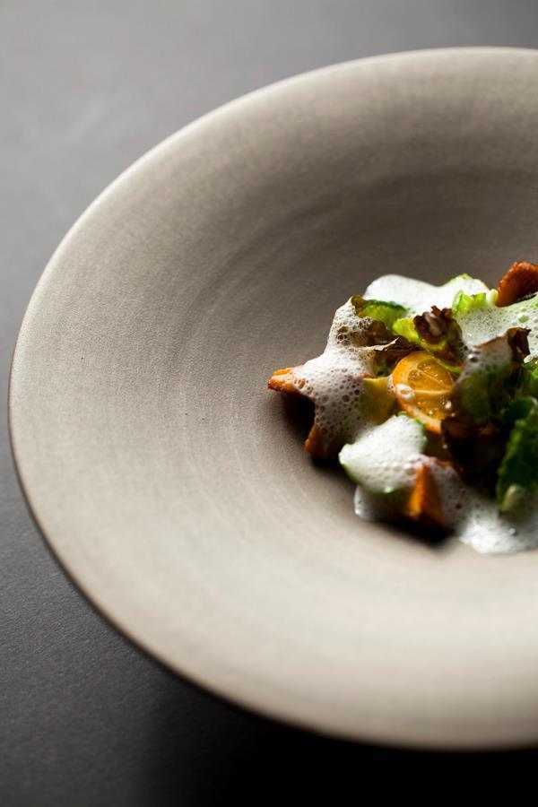 David Kinch菜色特色以永續資源為精神。圖/翻攝自樂沐粉絲團