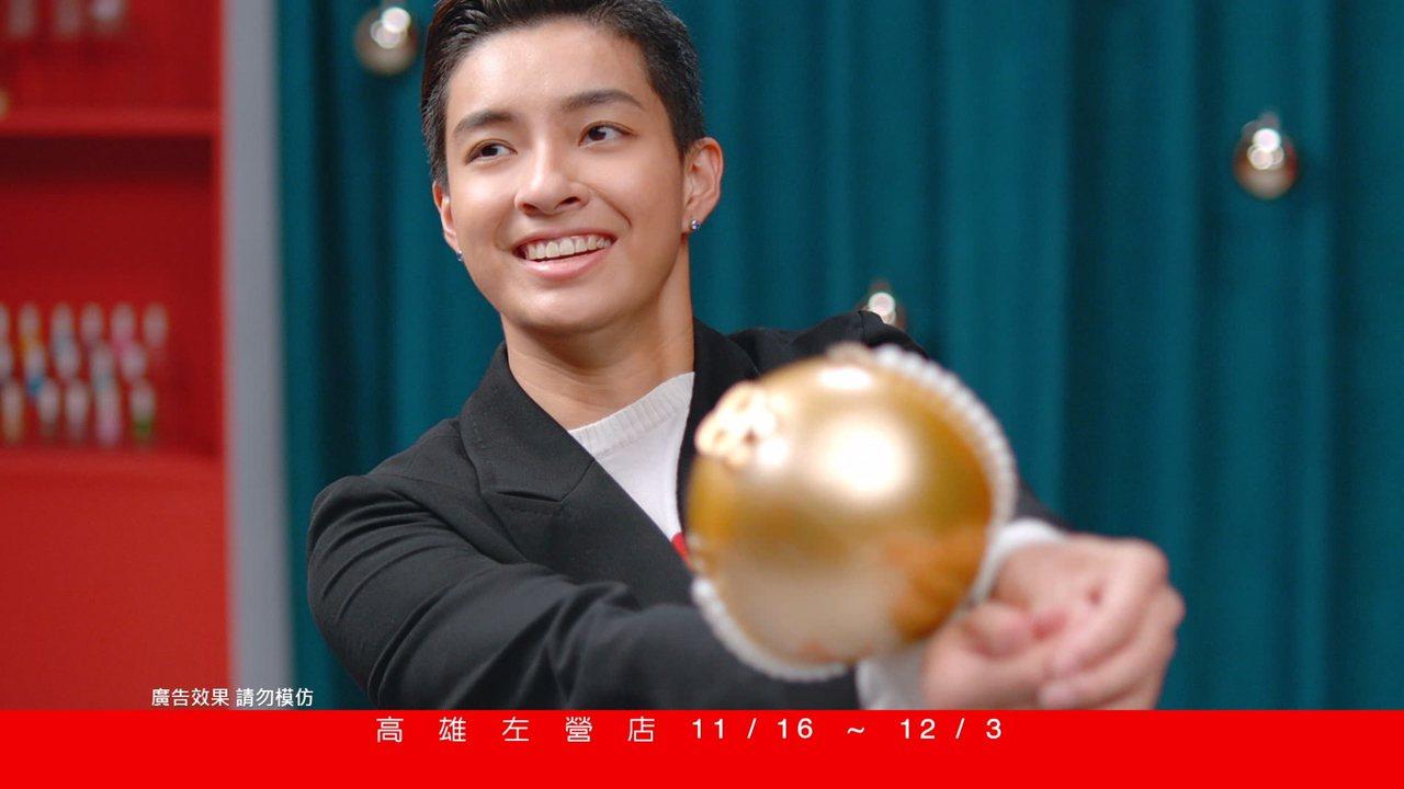 新光三越周年慶第三波廣告,世大運女排選手陳菀婷(阿非)參與演出。圖/新光三越提供
