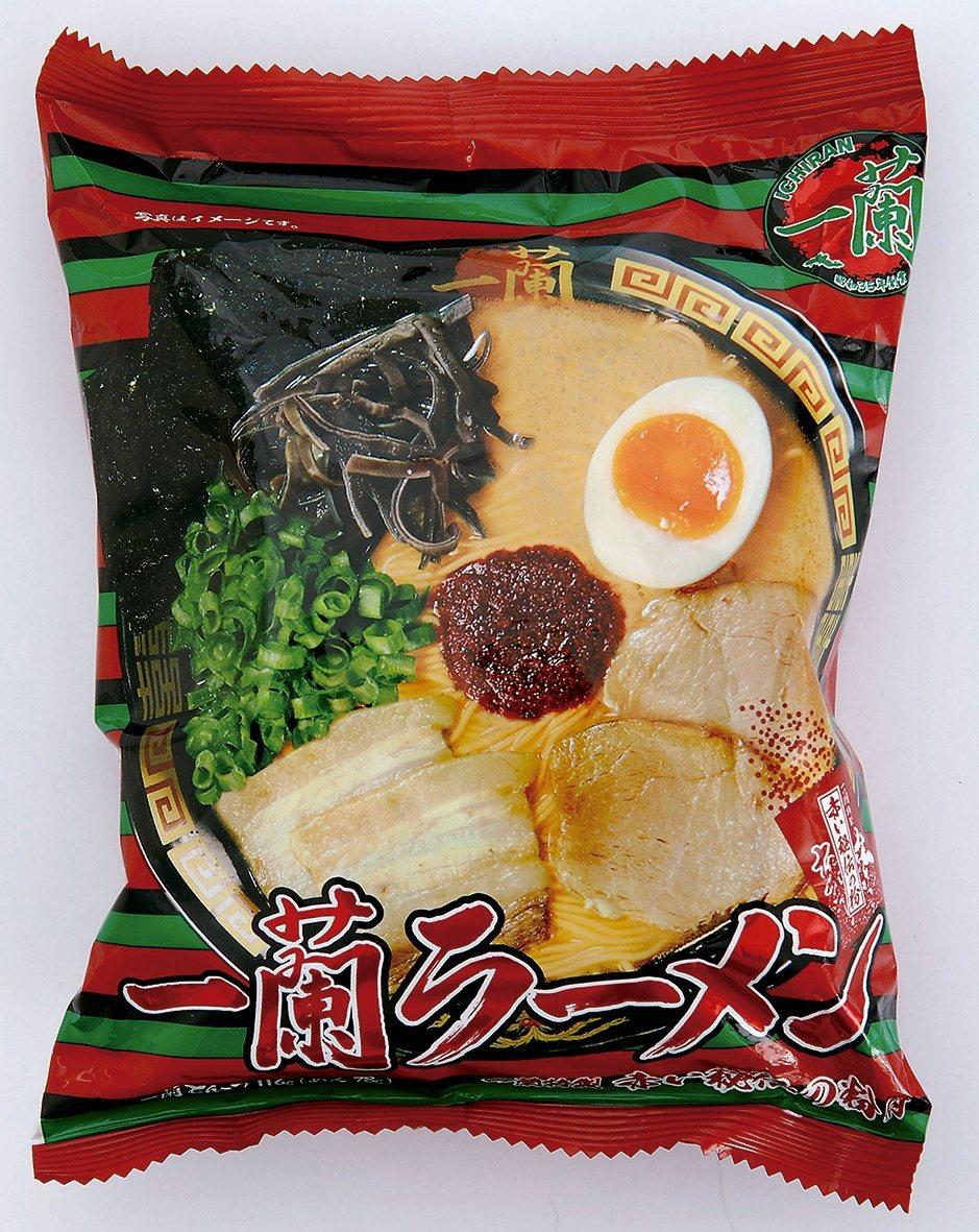 新光三越台南新天地日本商品展,一蘭拉麵(5入)推薦價750元。圖/新光三越提供