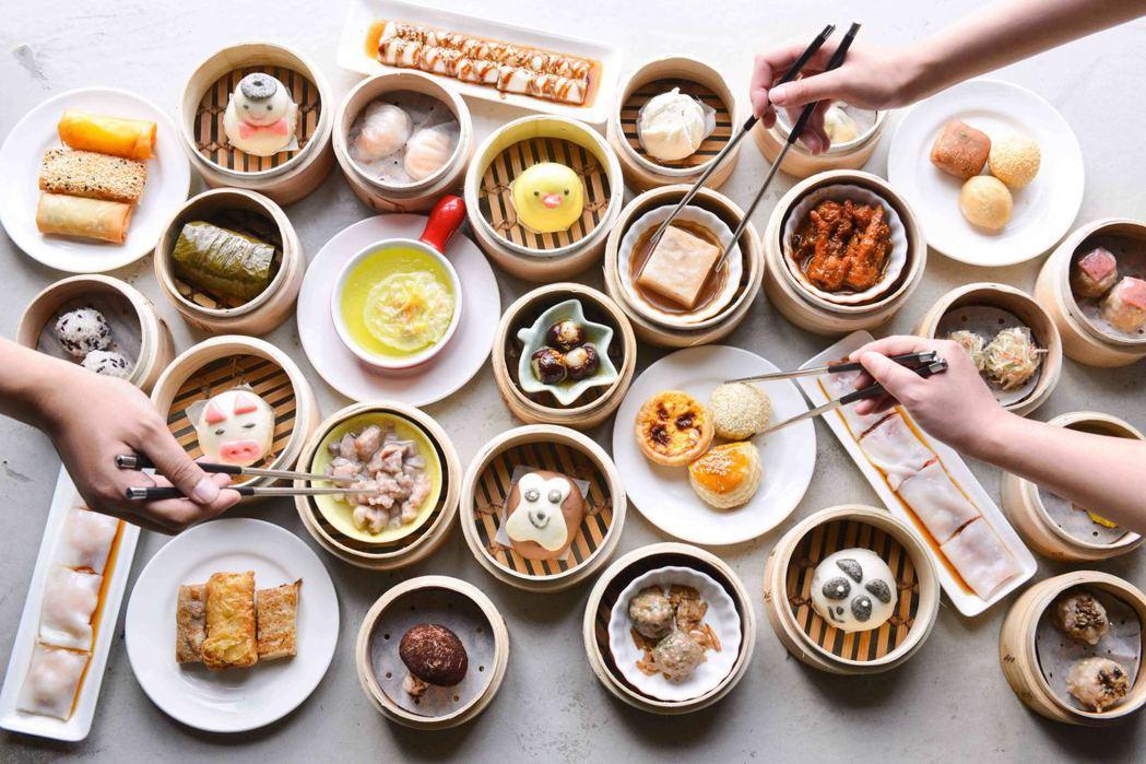 香港香港新生活飲茶的港點。業者/提供