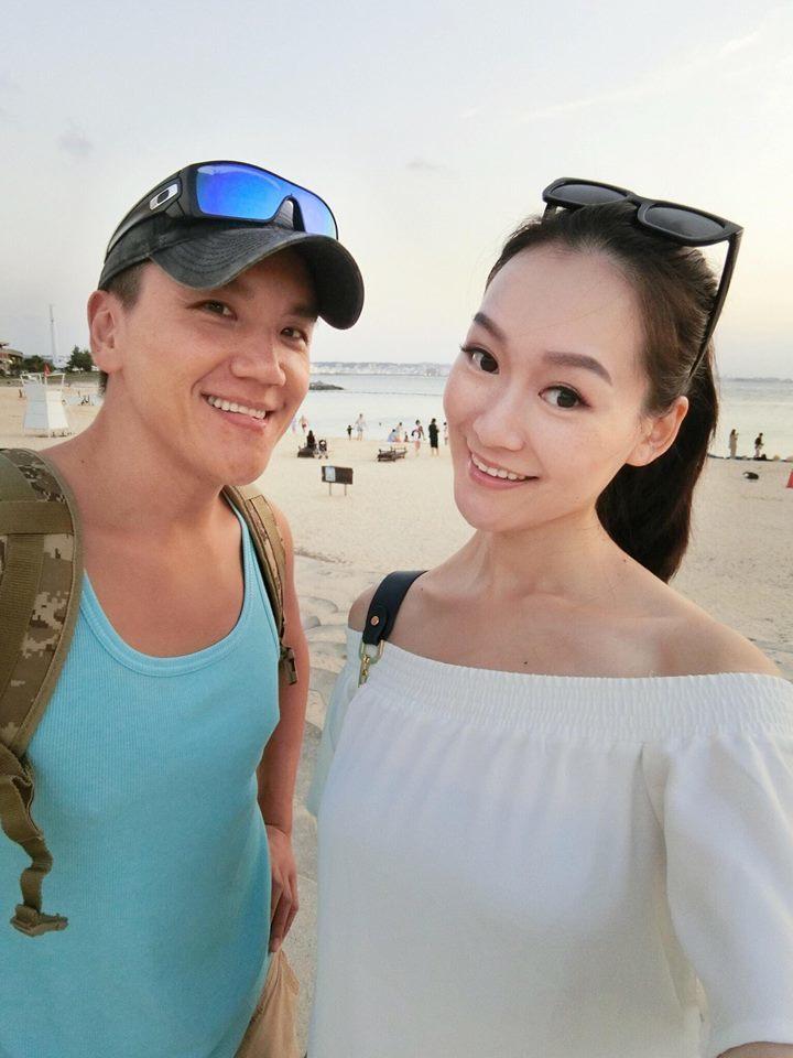 孫國豪跟女友楊泊霓將迎接女兒出生。圖/摘自臉書