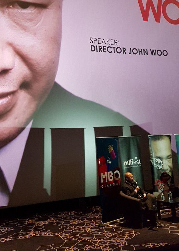 香港導演吳宇森今天在吉隆坡舉行電影「追捕」分享會,除了製作過程,他談到多年拍片心