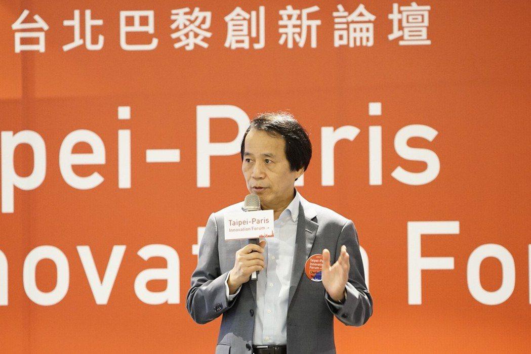 「創新與國際交流是城市活力與產業發展的驅動力!」臺北市副市長林欽榮開場致詞時強調...