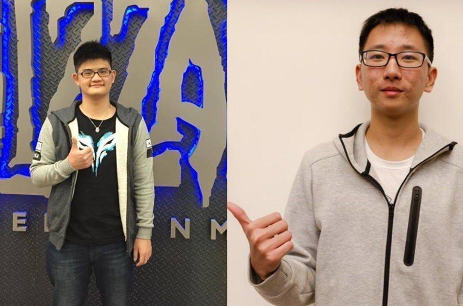 左:tom60229、右:SamuelTsao