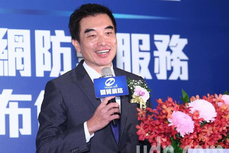 關貿網路公司董事長許建隆。記者王騰毅/攝影