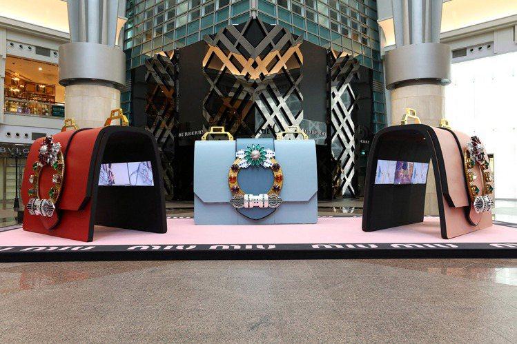 台北MIU LADY大型裝置藝術特展於11/17~12/13在台北101四樓都會...