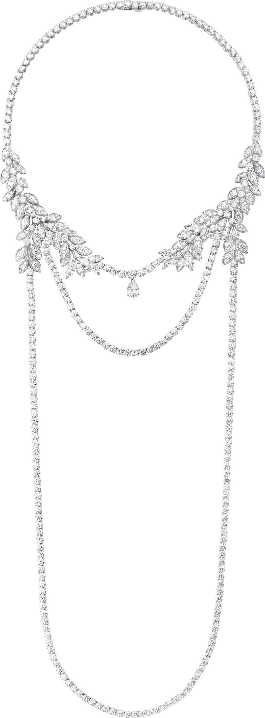2016年坎城影展潔西卡雀絲坦曾配戴Extremely Piaget 系列高級珠...