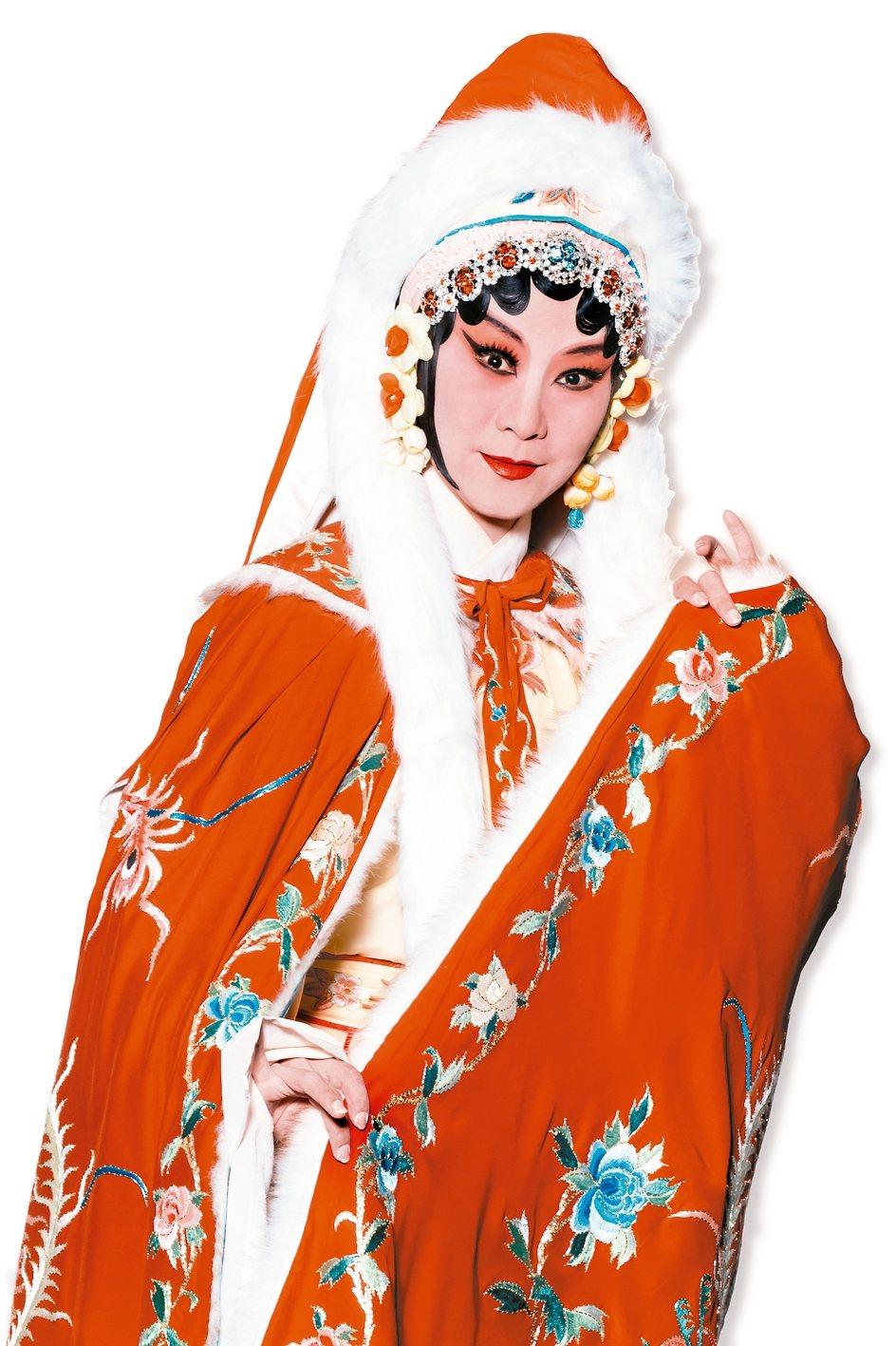 朱民玲在《蔡文姬》中飾演主角蔡文姬。 圖/國立台灣戲曲學院提供