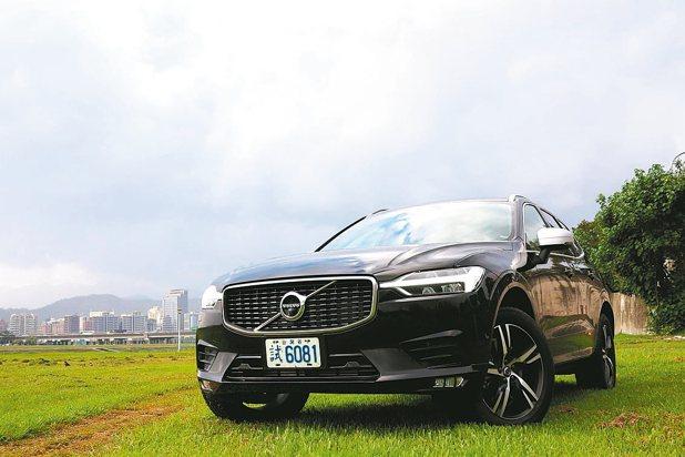 完美融合強悍與優雅的全新VOLVO XC60。 陳志光/攝影