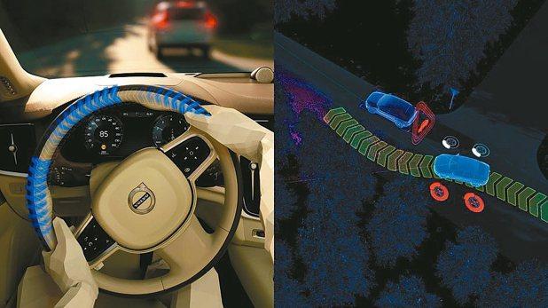 City Safety 都會安全防護系統可加強駕駛轉向輔助與煞車力道幫助迴避碰撞...