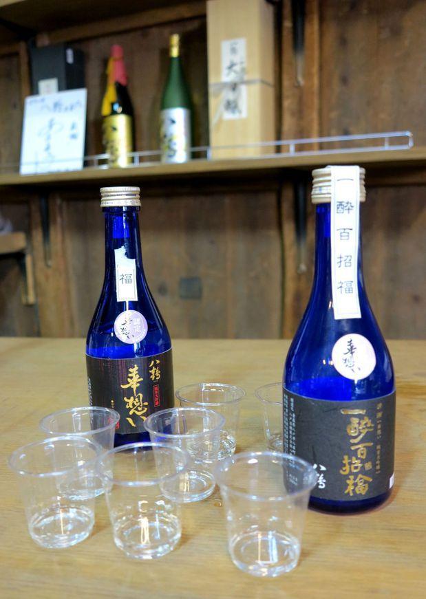 一醉百招福與八鶴華想兩支清酒,是試飲時眾人的最愛。 陳志光/攝影