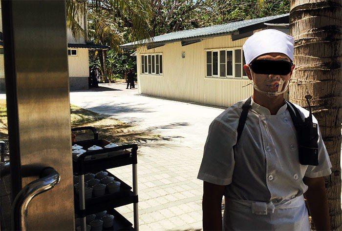 太平島海巡守軍在島上設有南沙烘焙坊,專責提供各式西點作為伙食或夜點食用。 圖片來...