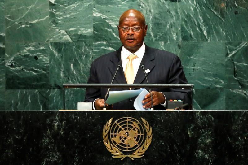 烏干達總統穆塞維尼。 (路透)
