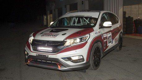 全球首輛Honda CR-V柴油賽車