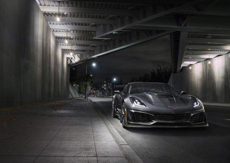 2019 Corvette ZR1馬力高達755匹 極速超越330公里