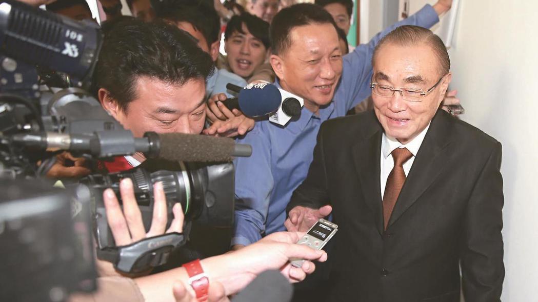 國防部長馮世寬。 報系資料照