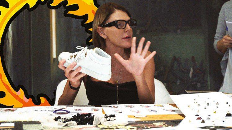 TOD'S攜手同樣來自義大利的時尚達人Anna Dello Russo,打造全球...