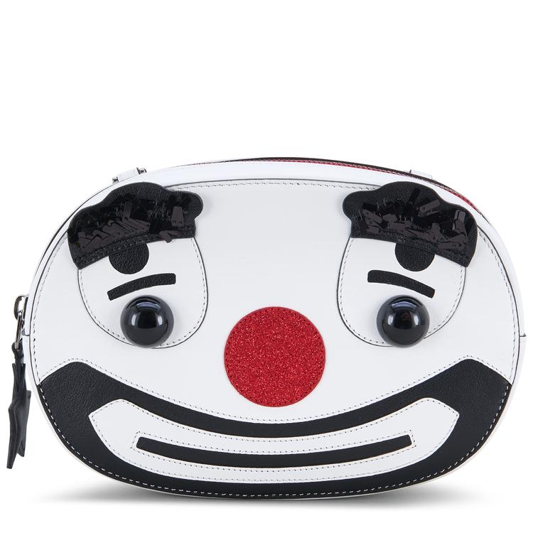 Circus聯名限定系列小丑收納包,30,500元。圖/TOD'S提供