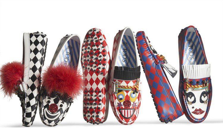 Circus聯名限定系列豆豆鞋。圖/TOD'S提供