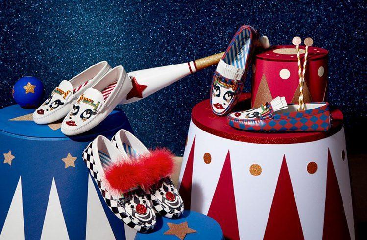 Circus聯名限定系列。圖/TOD'S提供