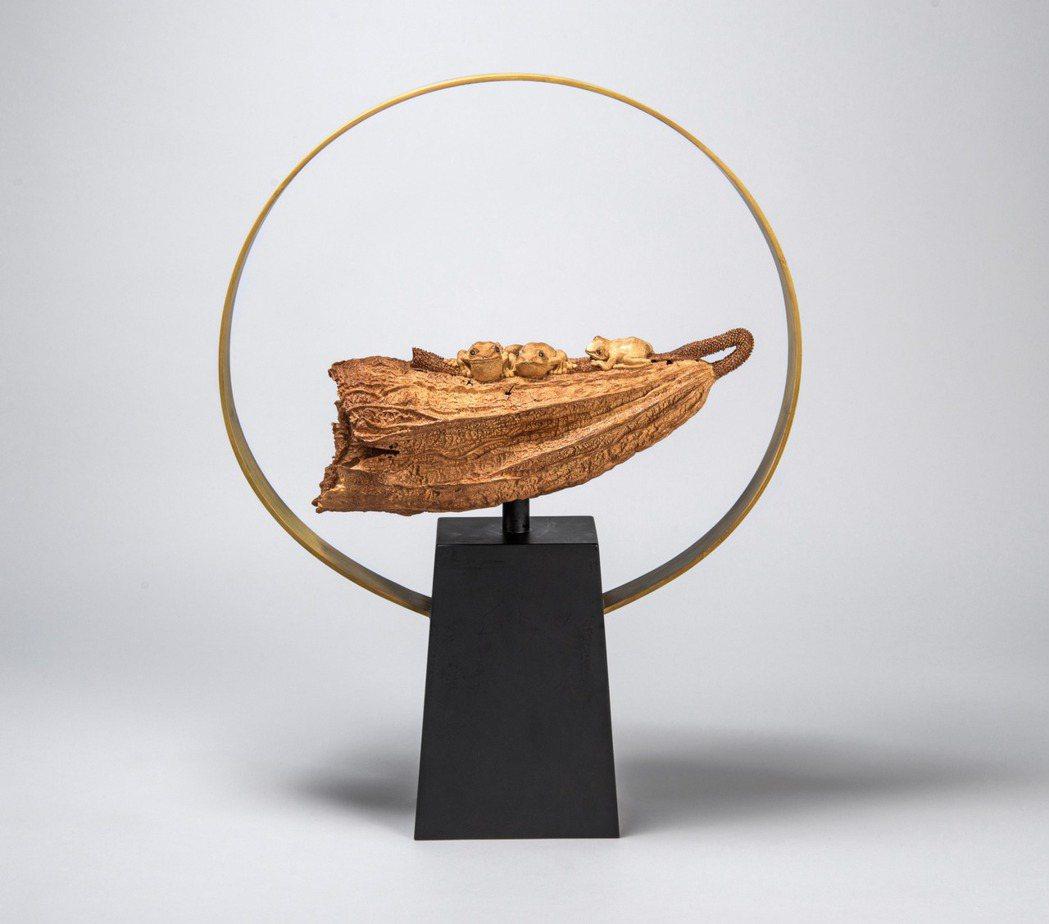 「2017工藝之夢」美術工藝組一等獎作品「戀戀夏日」。圖/新光三越提供
