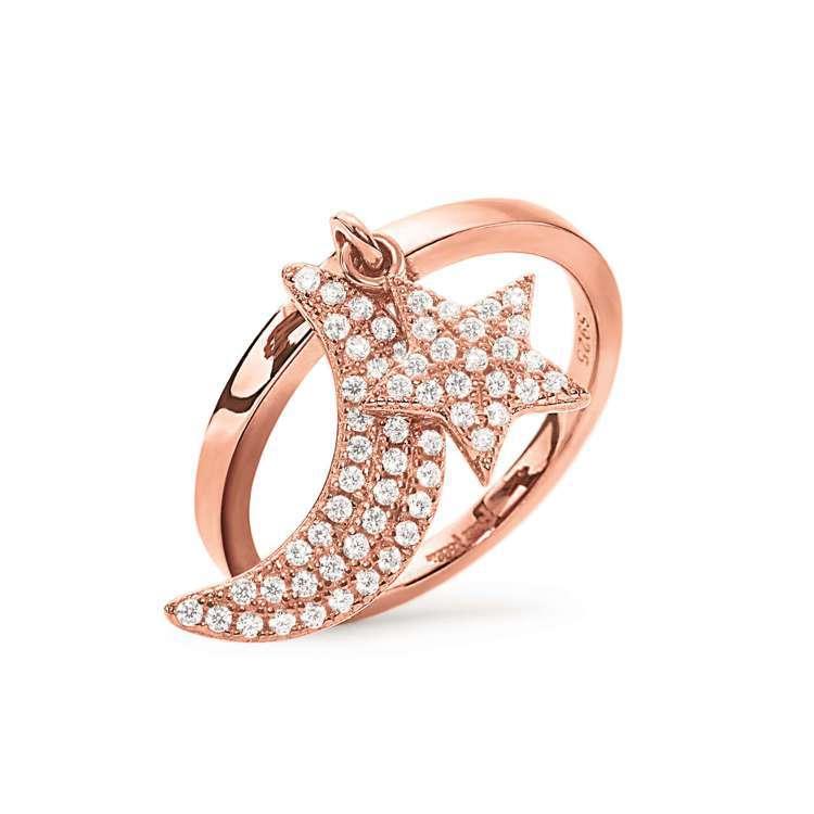 CHARM MATES系列戒指,1,890元。圖/Folli Follie提供