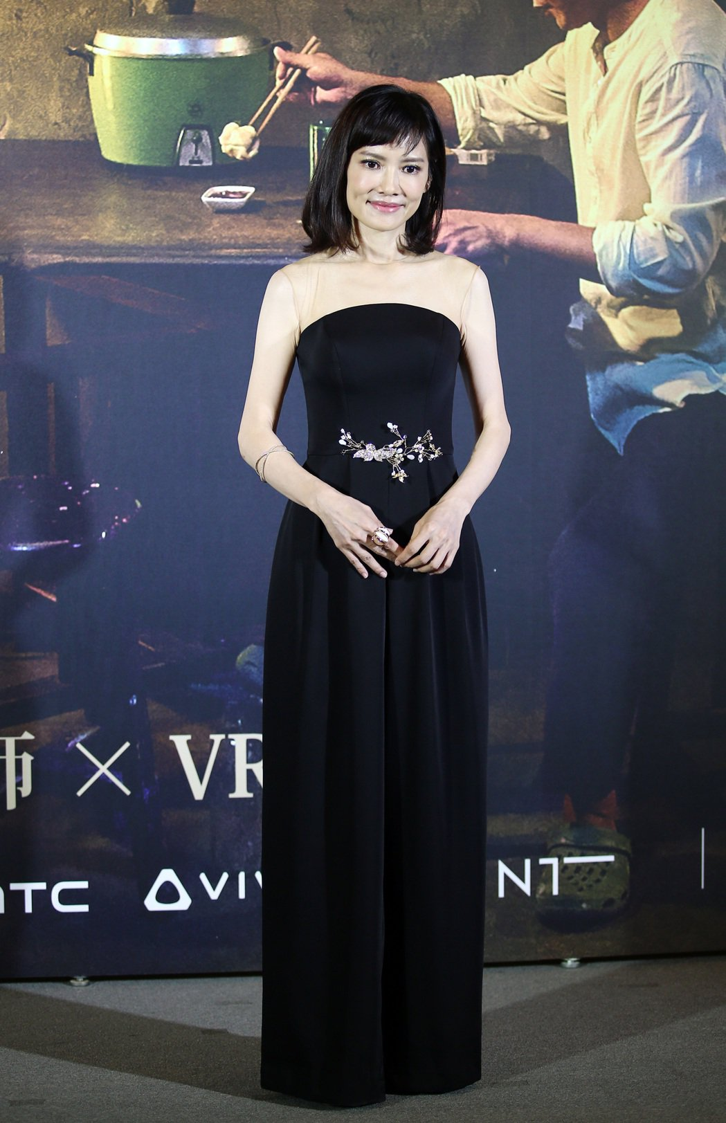 「家在蘭若寺」演員陳湘琪。記者杜建重/攝影