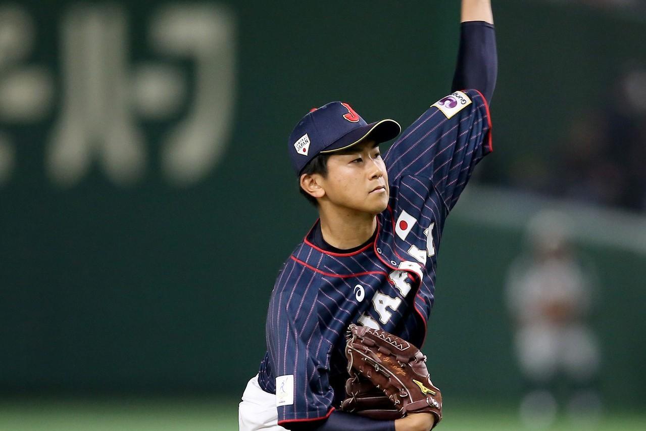 日本亞冠賽投手今永昇太。 記者余承翰/攝影